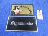 Searchers Vintage Vehicle Club Plates- Pot Metal