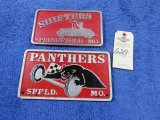 Shifters Springfield, MO Vintage Vehicle Club Plate- Pot Metal