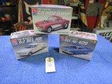 AMT Chevrolet 162 Belair and 1957 Chevrolet Corvette Models