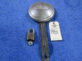 Vintage Foord Spare Tire Lock and Ford Padlock