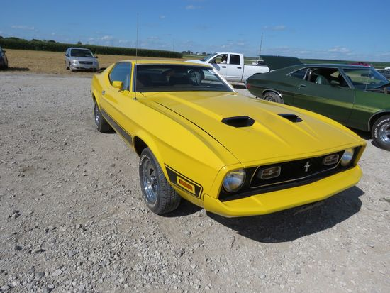 1973 Ford Mach 1 Mustang Coupe