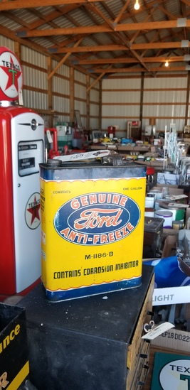 Ford Antifreeze 1 gallon can full