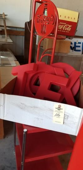 Texaco plastic letters