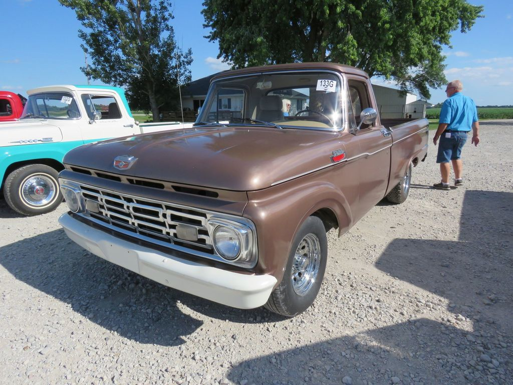 1964 Ford F100 Custom Cab Pick Auctions Online Proxibid Pickup Truck