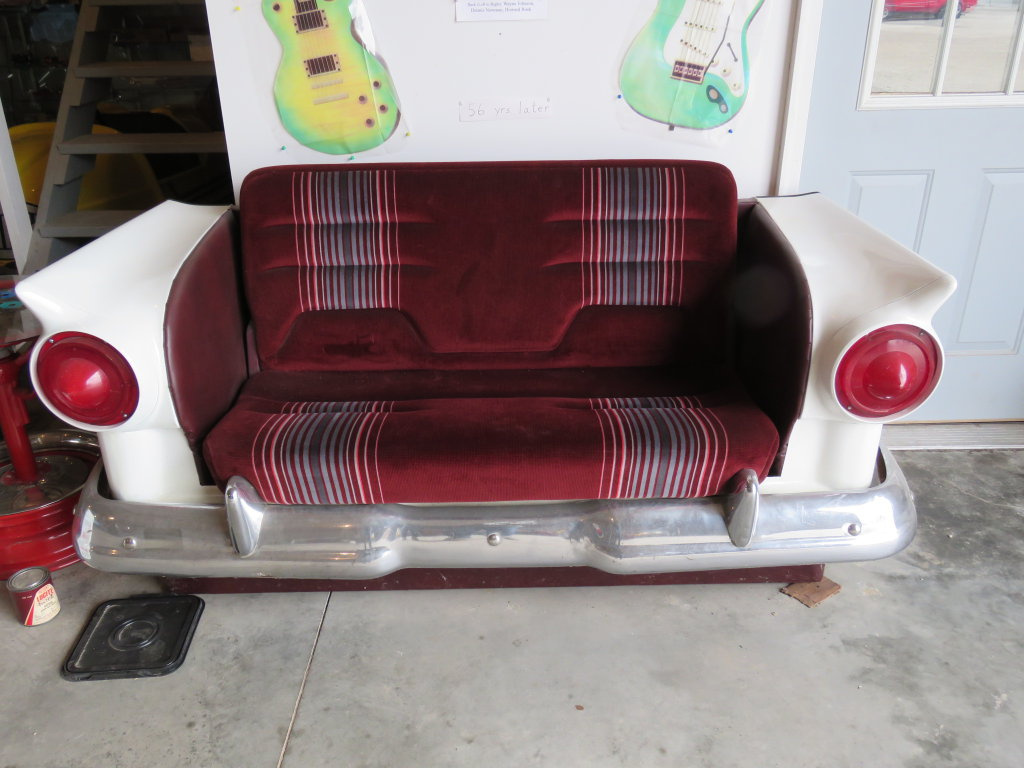 1957 Ford Fiberglass Couch