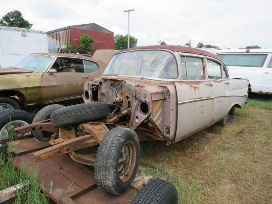 1957 Chevrolet 4dr Sedan for Rod or Restore