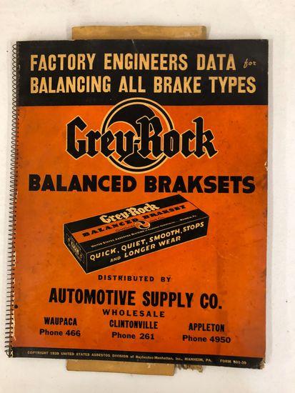 Grey Rocks Balanced Brackets manual