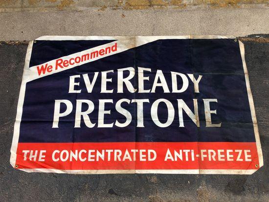 Everready Prestone Anti-Freeze Banner