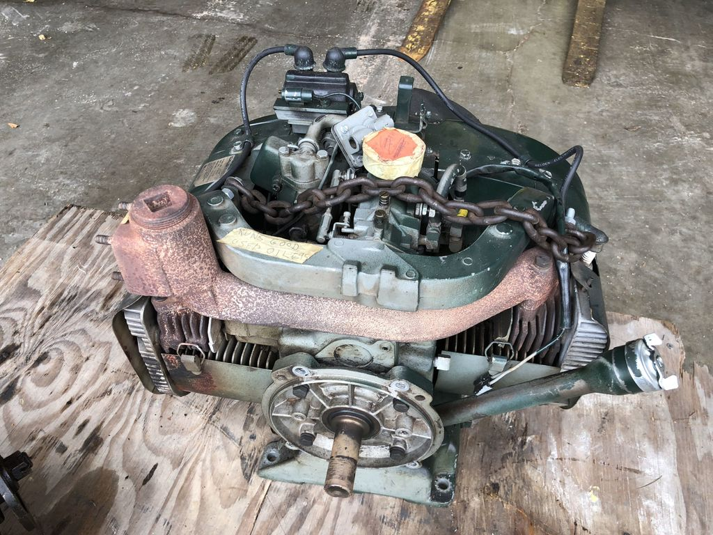 Lot: Kohler 23 Horsepower 2 cylinder Engine Mode K825