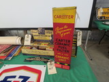 Carter Carburator Box  display