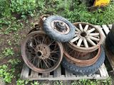 Pallet of various Auto Wheels