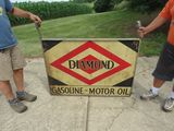 Diamond DS Painted Tin Sign