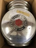 Box Of 8 Packard Hubcaps 12 3/4 inch diameter