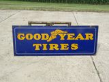 Goodyear Tires DS Porcelain Sign