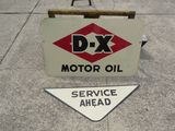 DX DS Porcelain Sign