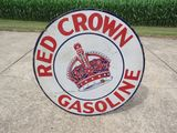 Red Crown DS 42 inch Porcelain Sign