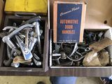 Box of Assorted Auto Door Handles