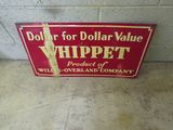 Whippett Painted Tin Sign