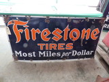Firestone Tires Porcelain Sign