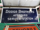 Dodge Brothers Porcelain sign