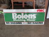 Bolens FMC Painted Tin Sign