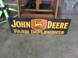 Reproduction John Deere Sign