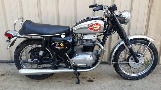 1968 BSA Thunderbolt Motorcycle