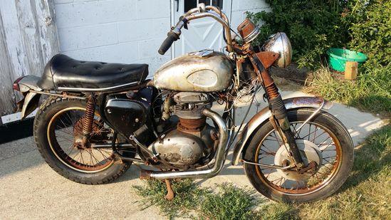 1969 BSA Lightning Motorcycle