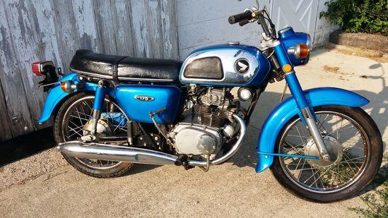 1969 Honda CB175 Motorcycle