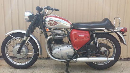 1970 BSA Thunderbolt Motorcycle