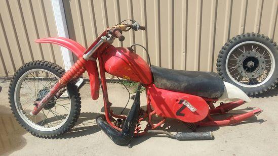1977 Maico MX Motorcycle