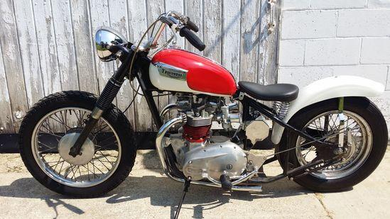 1970 Triumph Bonneville Bobber