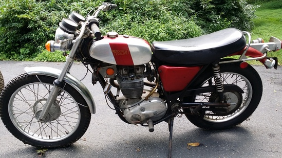 1971 BSA B50T Motorcycle