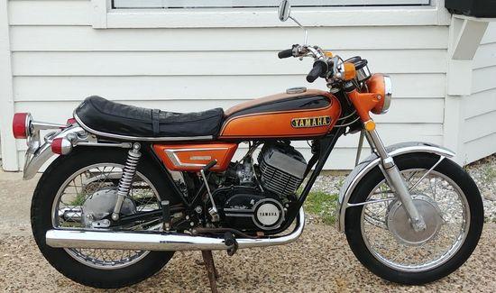 1972 Yamaha R5 350