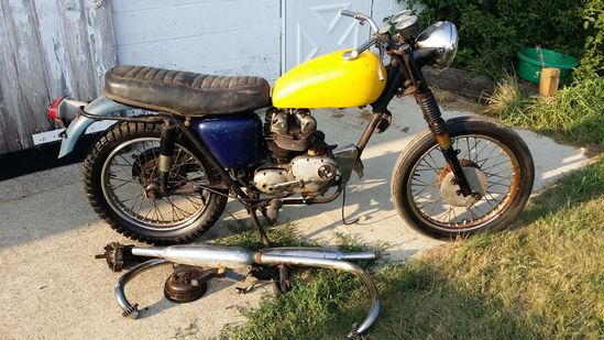 1966 Triumph T100SR Motorcycle