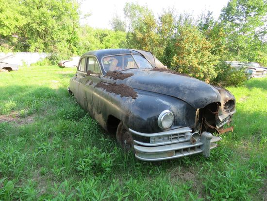 1948 Packard Custom 4dr Sedan