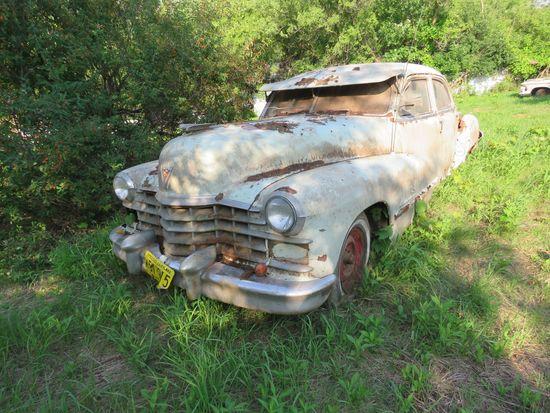 1947 Cadillac 4dr Sedan
