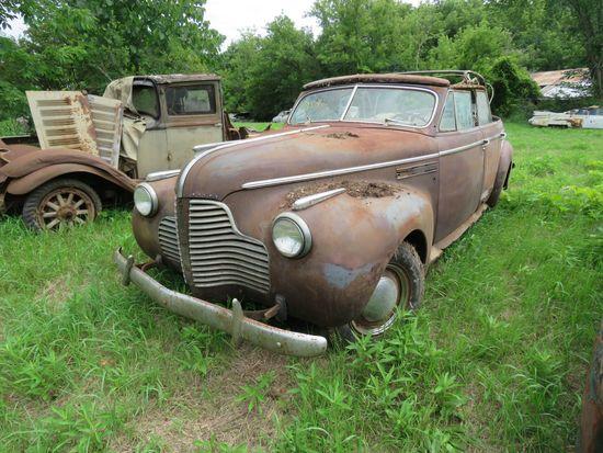 1940 Buick Series 50 Convertible