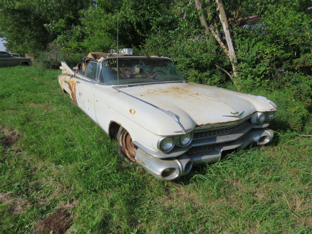 Lot Rare 1959 Cadillac Eldorado Biarritz Convertible Proxibid