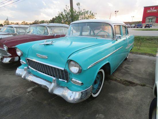 1955 Chevrolet Belair 4dr Sedan