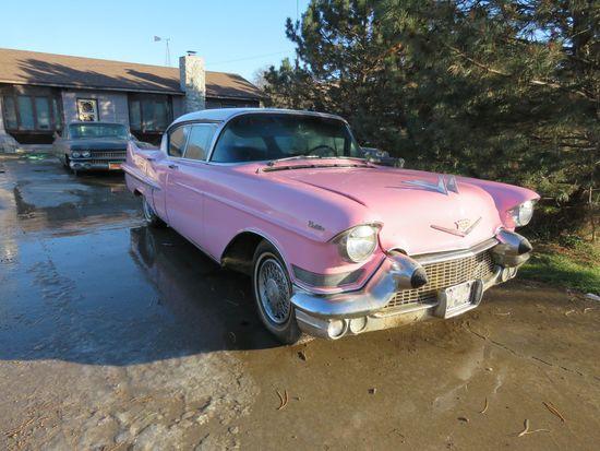 1957 Series 62 Cadillac 4dr Hard Top