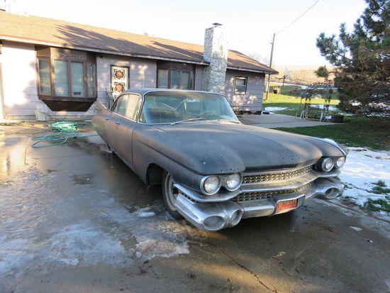 1959 Cadillac DeVille 4dr HT