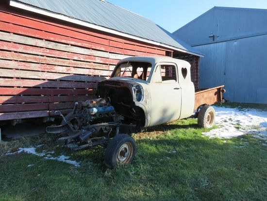1949 Chevrolet 5 Window Cab Pickup Project