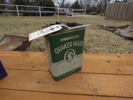 Quaker State Quaker Maid Premium 1 Gallon Oil Can