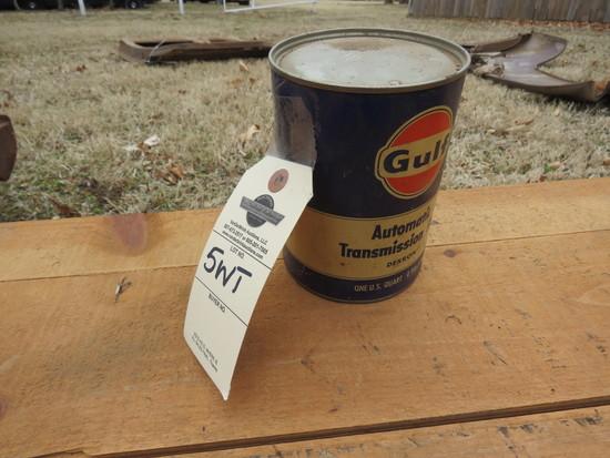Gulf Oil 1 Quart Oil Can