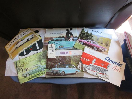 Grouping of Chevrolet Automotive Literature