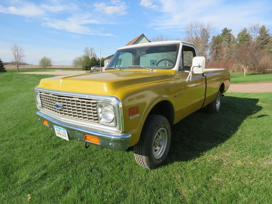 1972 Chevrolet C20 Custom 4x4 Pickup