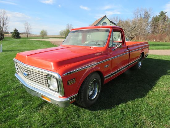 1970 Chevrolet C10 Cheyenne 2WD Big Block Pickup