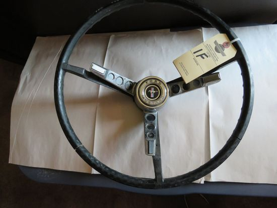Ford Mustang Original Steering Wheel