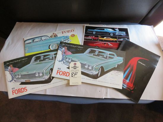 Grouping of Ford Automotive Literature